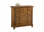 Arts and Crafts Drawer Chest in Cottage Oak - Home Styles - 5180-41