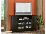 Arts and Crafts Entertainment Credenza in Ebony - Home Styles - 5181-10