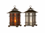 Arts and Crafts Lanterns (Set of 2) - IMAX - 5724-2