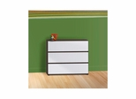 Atom 3 Drawer Chest - Nexera Furniture