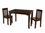 Avalon Table and Chair Set in Espresso - KidKraft Furniture - 26651