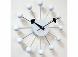 Ball Wall Clock in White - G81015WT