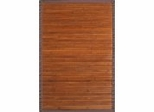 Bamboo Rug - 4' x 6' - Contemporary Chocolate - AMB0031-0046
