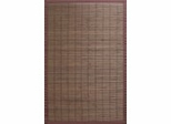 Bamboo Rug - 5' x 8' - Villager Coffee - AMB0012-0058