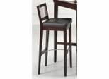 Bar Stool - Bar Stool with Metal Stretcher in Cherry - Home Styles - 5987-88