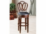 Bar Stool - Dover Bar Stool with Leather Seat - 62968