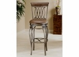 Bar Stool - Montello Swivel Bar Stool - Hillsdale Furniture - 41545