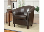 Barrel Chair with Wood Legs - 900275