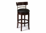 Bauer Swivel Counter or Bar Height Stool - Hillsdale