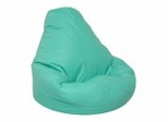 Bean Bag Chair Adult Extra Large in Aqua - Lifestyle - 30-1051-329