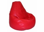 Bean Bag Chair Adult Extra Large in Dark Red - Lifestyle - 30-1051-318