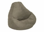 Bean Bag Chair Adult Extra Large in Olive Soft Suede LUXE - 30-1051-166