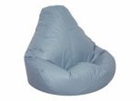 Bean Bag Chair Adult Extra Large in Wedgewood Blue - Lifestyle - 30-1051-319