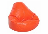 Bean Bag Chair Adult in Blaze Orange - Wetlook - 30-1041-133