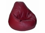Bean Bag Chair Adult in Burgundy - Lifestyle - 30-1041-322