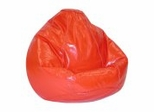 Bean Bag Chair Kids Large in Lipstick - Wetlook - 30-1021-121