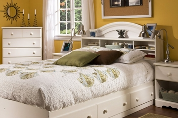 Bedroom Furniture Collection in Vanilla Cream - South Shore Furniture - 3210-BSET-3