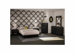 Bedroom Furniture Set 1 in Solid Black - South Shore Furniture - 3107-BSET-131