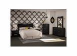 Bedroom Furniture Set 2 in Solid Black - South Shore Furniture - 3107-BSET-132