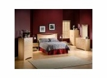 Bedroom Furniture Set in Natural Maple - South Shore Furniture - 3113-BSET