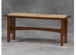 Bench For Nook Set in Cherry - Linon Furniture - 90470T37-01-KD