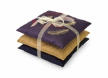 Benetar Embroidered Feather Pillows Asst (Set of 3) - IMAX - 42113-3