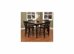 Berkshire 5pc Counter Height Set with Homestead Stools - American Hertiage - AH-713627