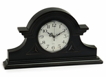 Black Mantel Clock - IMAX - 2631