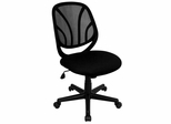 Black Mid Back Mesh Computer Task Chair - GO-WY-05-GG