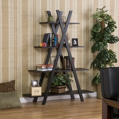 """Black """"X"""" Etagere - Holly and Martin"""
