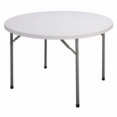 """Blow Molded 48"""" Round Food Service Table - Correll Furniture - FS48R"""