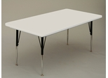 "Blow-Molded Activity Table 30"" x 60"" - Correll Office Furniture - AR3060REC"