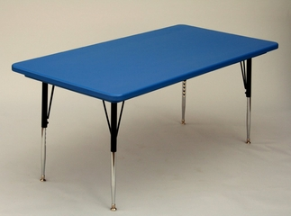 """Blow-Molded Activity Table 30"""" x 72"""" - Correll Office Furniture - AR3072REC"""