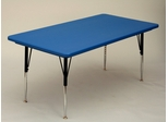 "Blow-Molded Activity Table 30"" x 72"" - Correll Office Furniture - AR3072REC"