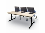 Blow-Molded Computer Tables - Correll Office Furniture