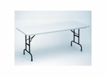 """Blow Molded Fixed Height Folding Table 30"""" x 96"""" - Correll Office Furniture - R3096"""