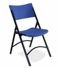 Blow Molded Folding Chair in Blue (Set of 4) - National Public Seating - 604-SET