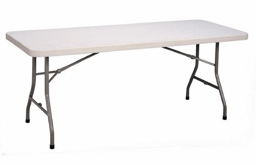 Blow-Molded Plastic Folding Table 30