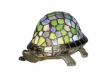 Blue Turtle Accent Lamp - Dale Tiffany