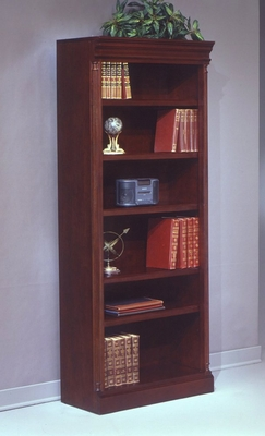 Bookcase DMI - Bookcase (Left Hand Facing) - Traditional Office Furniture - 7990-118