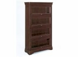 Bookcase DMI - Four Door Barrister Bookcase - Executive Office Furniture / Home Office Furniture - 7684-06