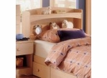 Bookcase Headboard - Alegria Collection - Nexera Furniture - 5614