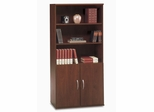 Bookcase with Door Pack Set - Series C Hansen Cherry Collection - Bush Office Furniture - WC24411-14