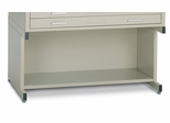 Bookshelf base for 30 Inch x 42 Inch File in Sand Beige - Mayline Office Furniture - 7878D5