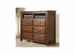 Boone HD Media Chest Distressed Dark Oak - Largo - LARGO-ST-B1035-28