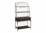 Bordbeaux Server with Bakers Rack in Birch - Home Styles - 5052-615
