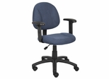 Boss Deluxe Posture Chair in Blue - B316-BE