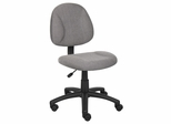 Boss Deluxe Posture Chair in Grey - B315-GY