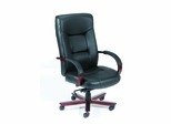 Boss Executive Chair in Black Leather - B8902