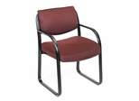Boss Guest or Visitor Chair in Blue - B9521-BE
